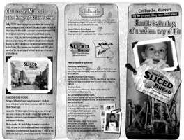 Home of Sliced Bread brochure available...